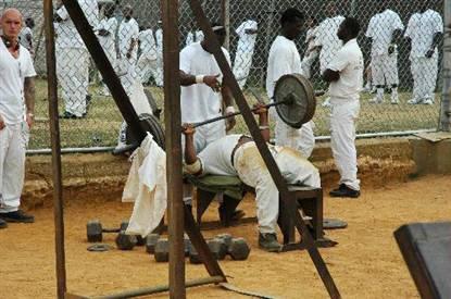 Holman Prison Yard